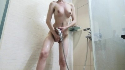 The Girl Decided to Relax in the Shower And Started to Masturbate - X blue film video