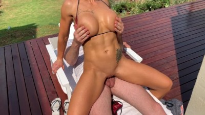 Fit to fuck milf seduces stepson into fucking her outdoors in public - You tubejizz