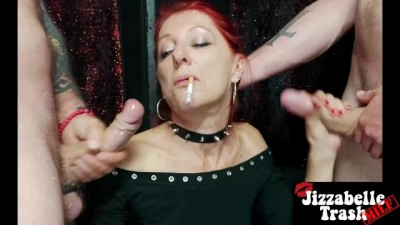 MILF Double SMOKING Blowjob - Pinay mommy scandal