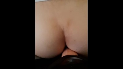 I fuck my stepsister with a strap-on from behind on a creaky bed when she reads a book - Streaming sex korea
