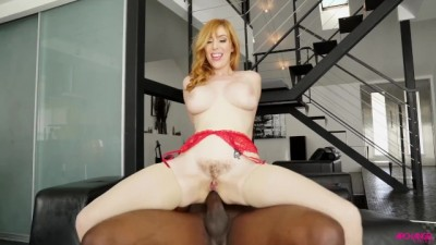 White marshmallow chick taking black cock from asshole - Centoxcento tv