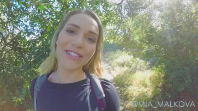 Gets Taken Advantage of on Public Hike - Pool porn hd