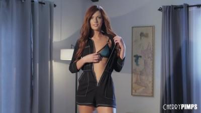 Full hd redtube - Redhead Scarlett Mae Stuffs Her Pussy