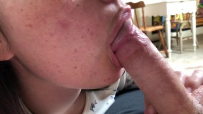 Young girlfriend POV blowjob - Teensporntv