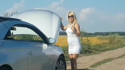 Gorgeous Blonde sex car - Beeg vacation