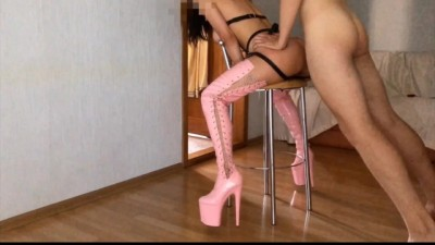Brazzerspornhub - russian teenager girlfriend in high boots fucked in the anal