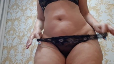 Redtube2 - Black Lingerie and Flashing u Ass