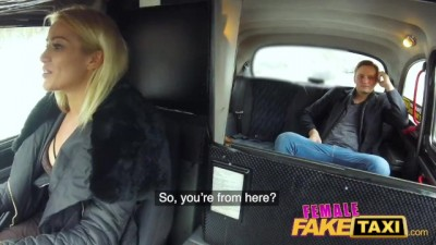 Passenger fucks blondes wet pussy