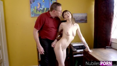 Slutty Teen Fucks Her Way Out Of Trouble