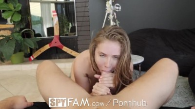 Stepsis Lena Paul Persuades Stepbrother Into Titty Fuck