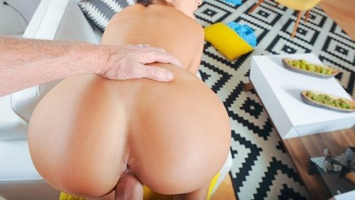 StepSister Fucks Daddy For Money