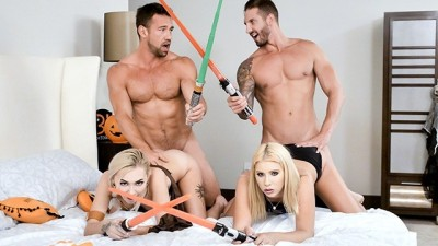 Star Wars Sluts Fuck Each Others StepSisters