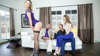 Scummy Step Dads Take Advantage Of Their Slutty Daughters